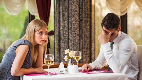 silence on a date