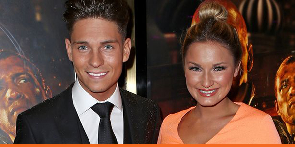 Sam Faires and Joey Essex