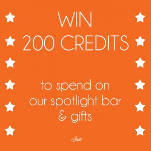 Win 200 credits for Just Singles