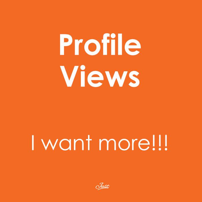 profile views