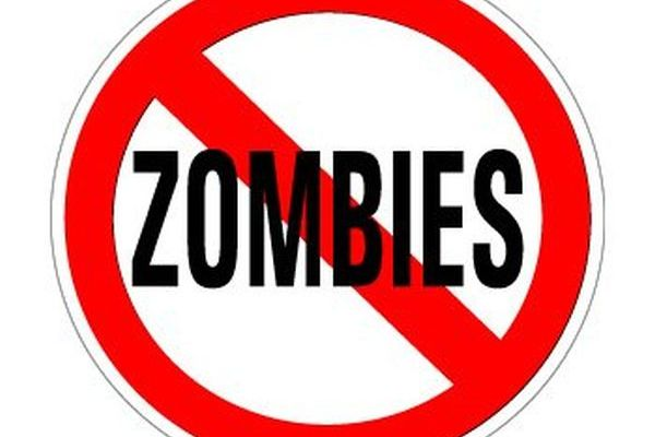 No-zombies-sign
